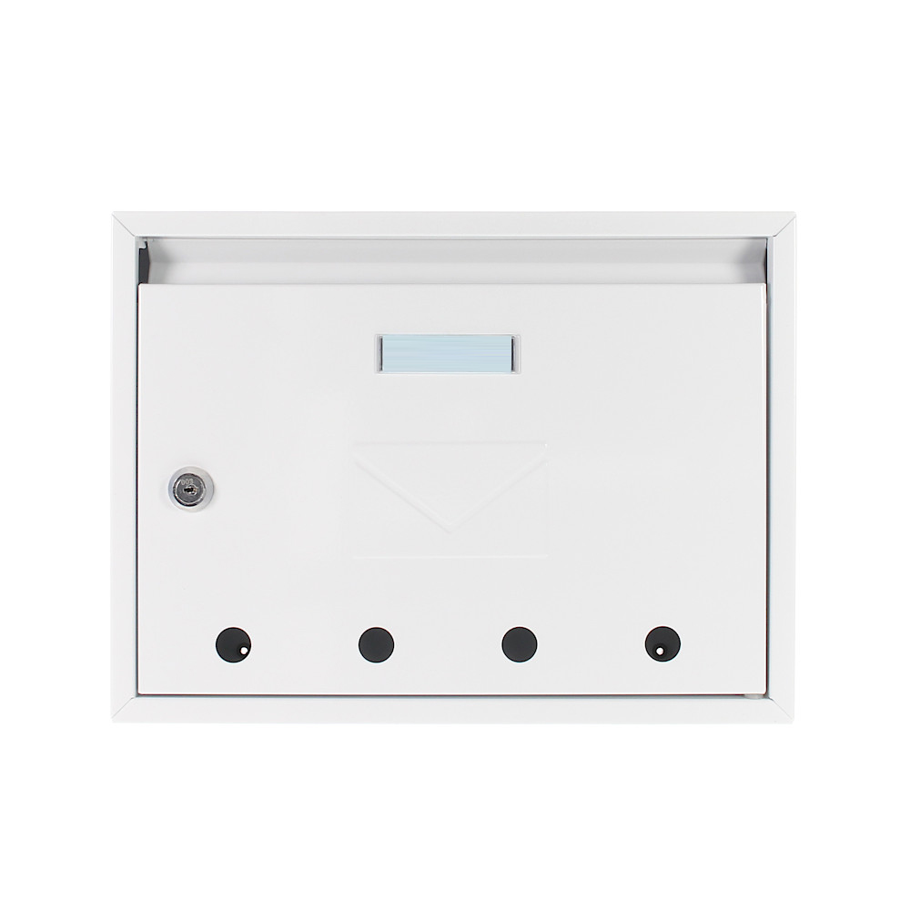 Pro First Mail Box 100 Letterbox White