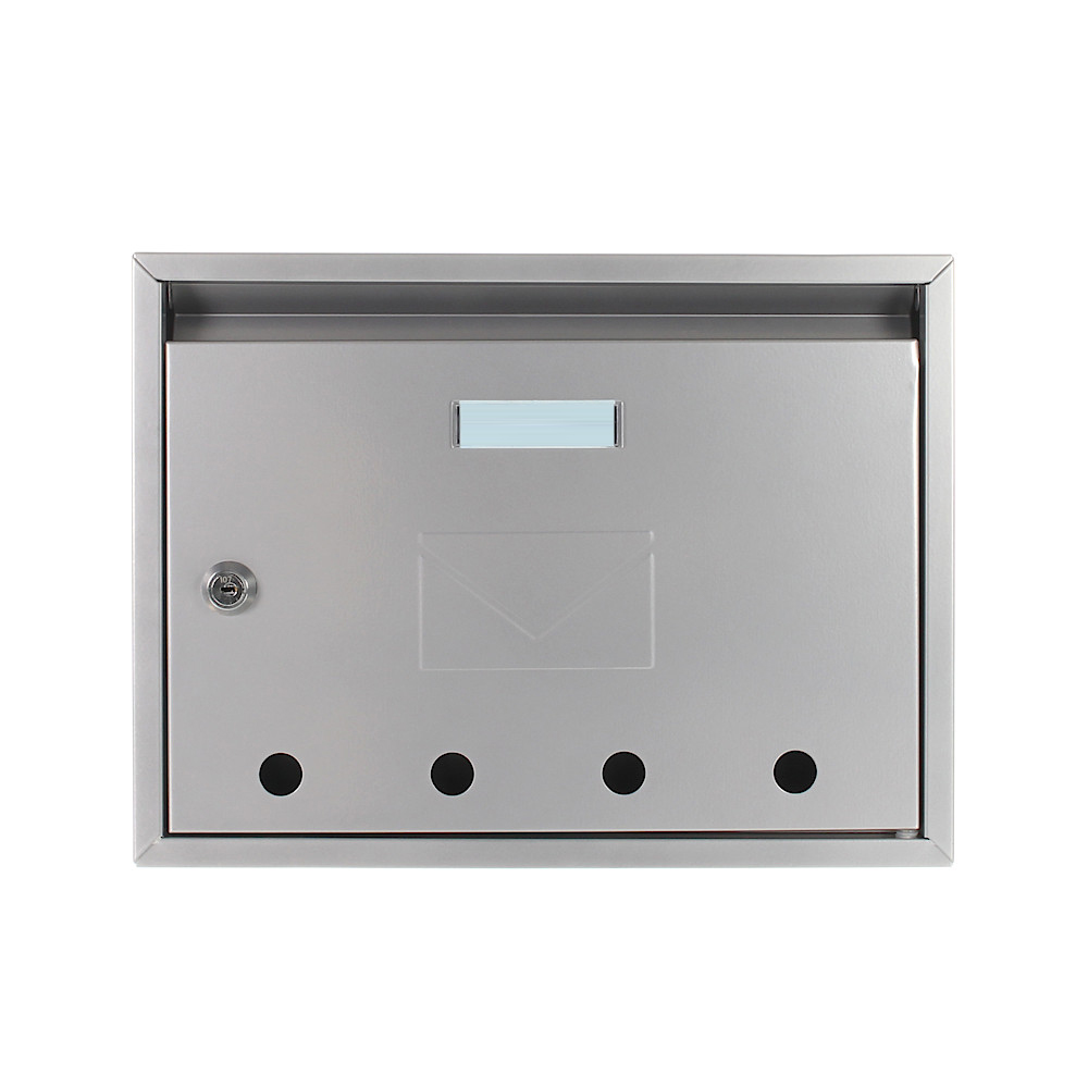 Pro First Mail Box 100 Letterbox Silver