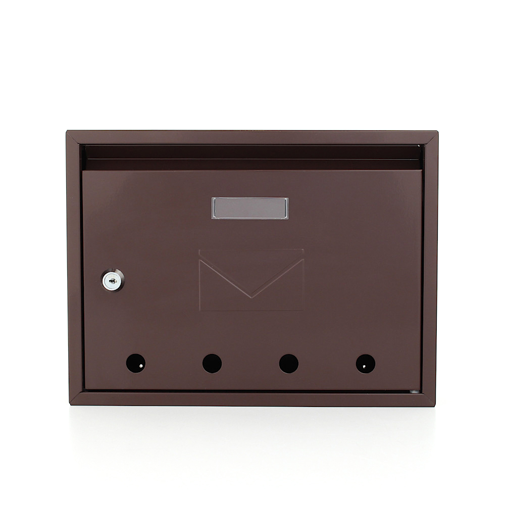 Pro First Mail Box 100 Post Box Brown
