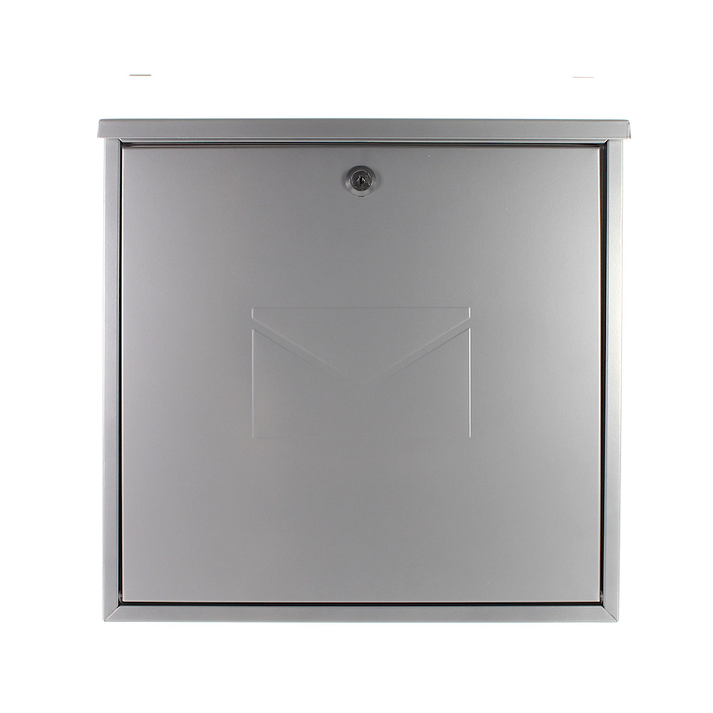 Pro First Mail Box 170 Letterbox Silver
