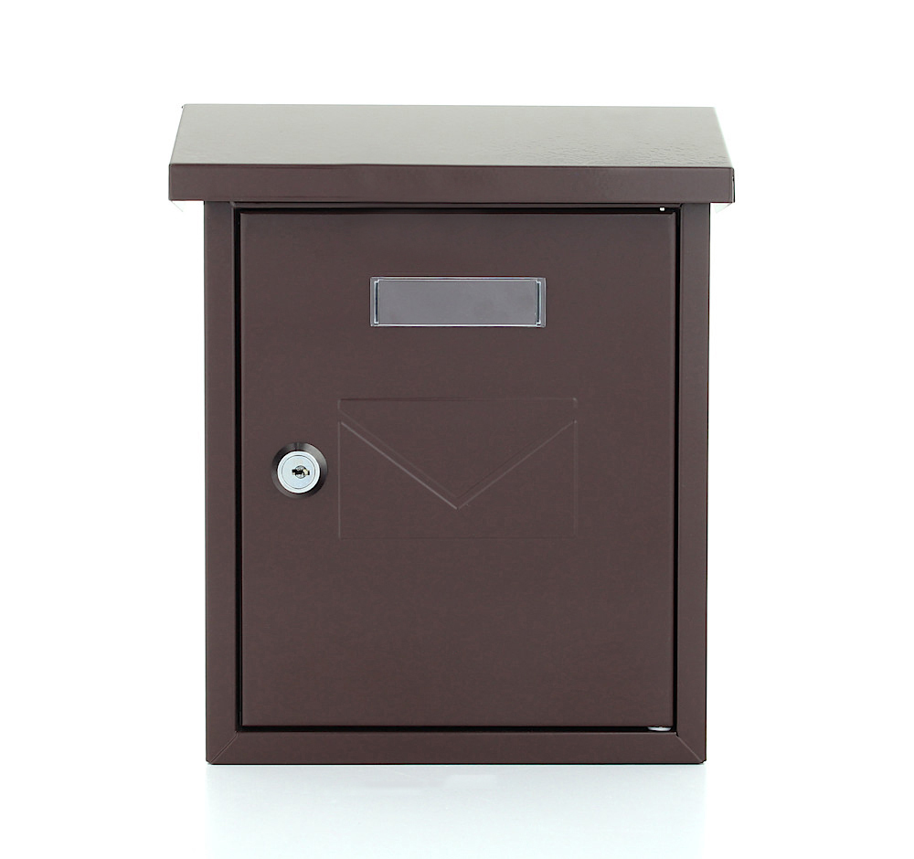 Pro First Mail Box 240 Letterbox Brown