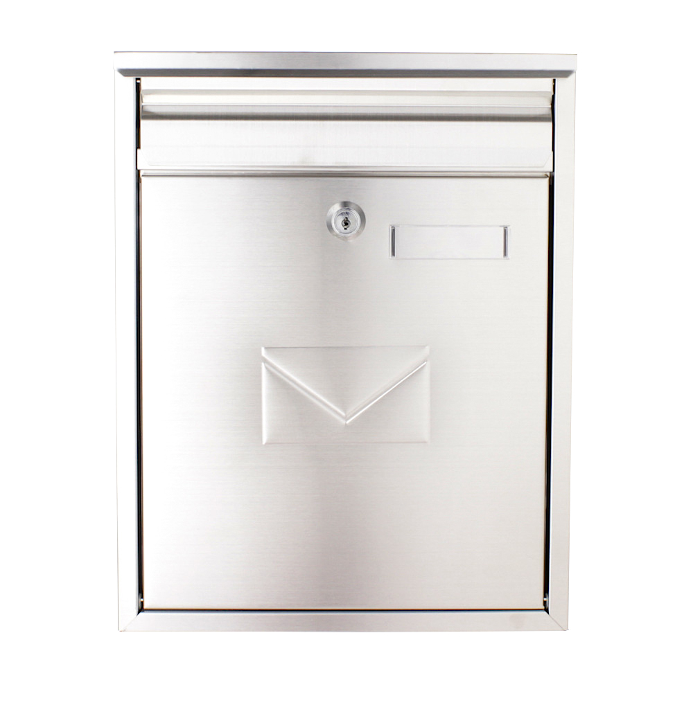 Pro First Mailbox 250 Post Box Stainless Steel