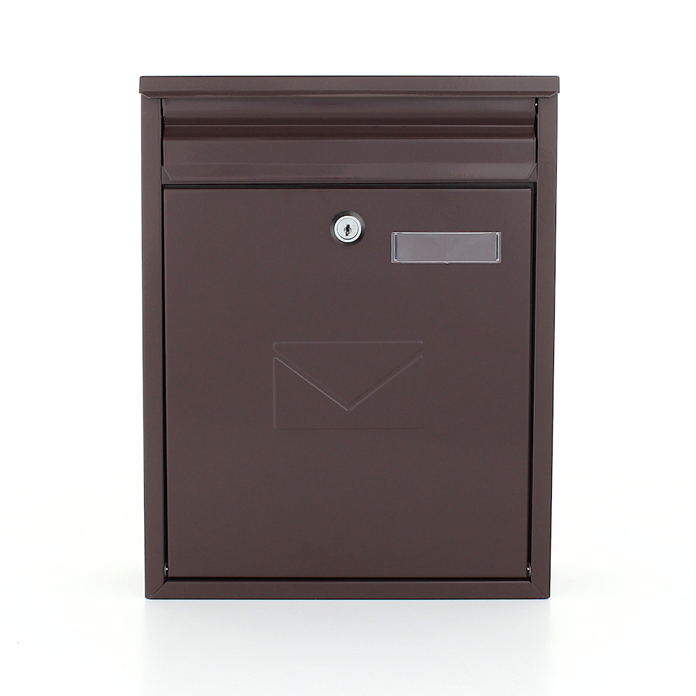 Pro First Mail Box 250 Letterbox Brown