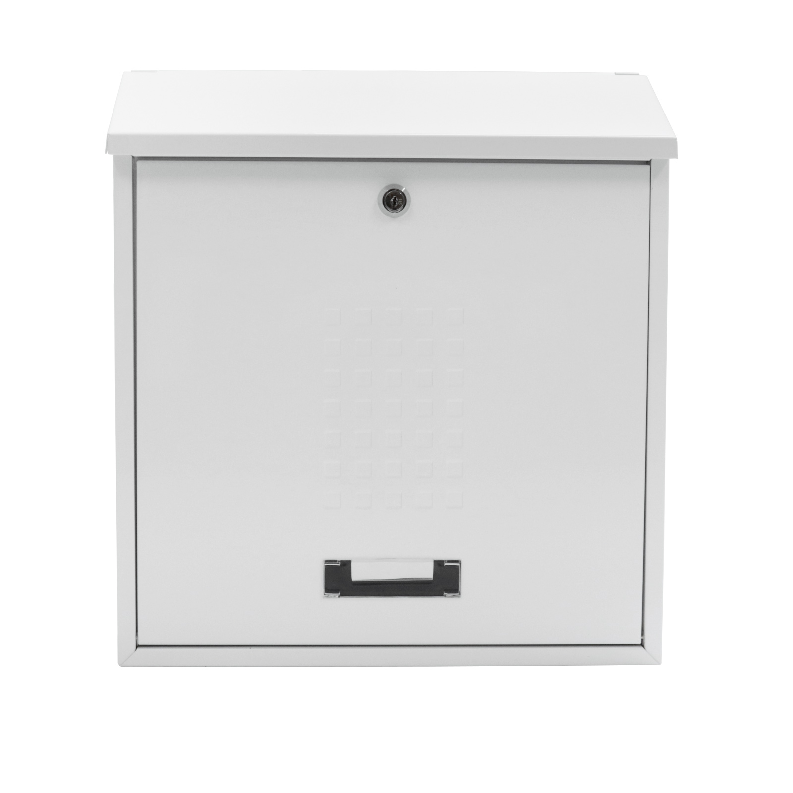 Pro First Mailbox 310 Post Box White