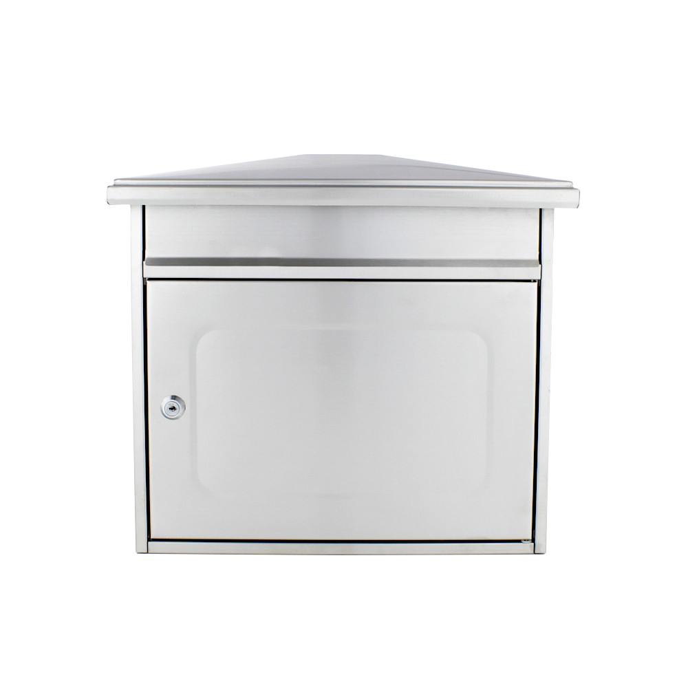 Pro First 320 Post Box Stainless Steel