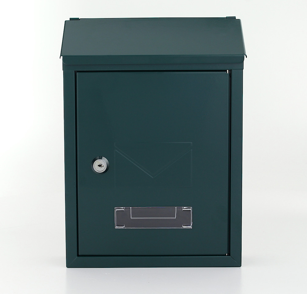 Pro First Mailbox 400 Post Box Green