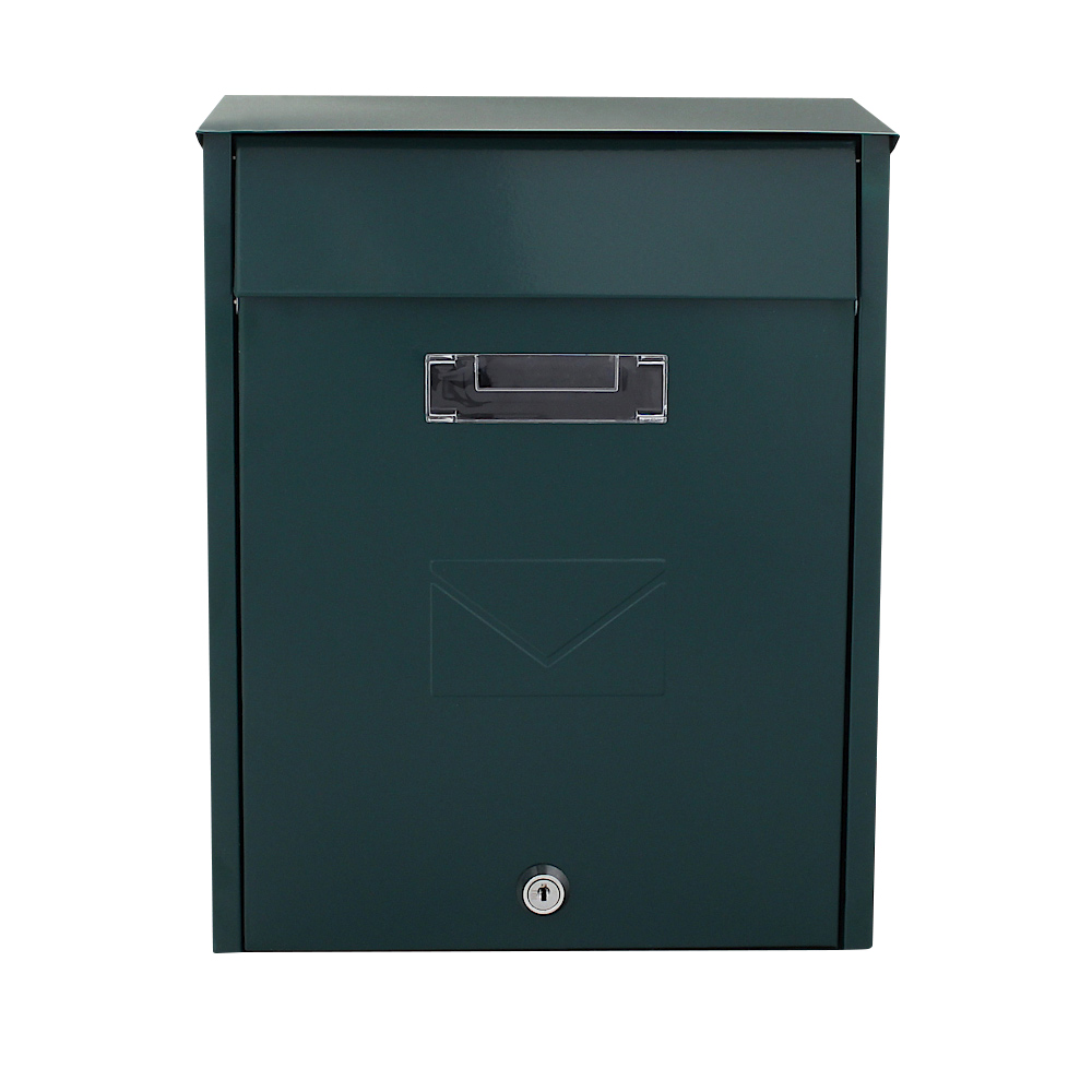 Pro First Mailbox 450 Green Post Box