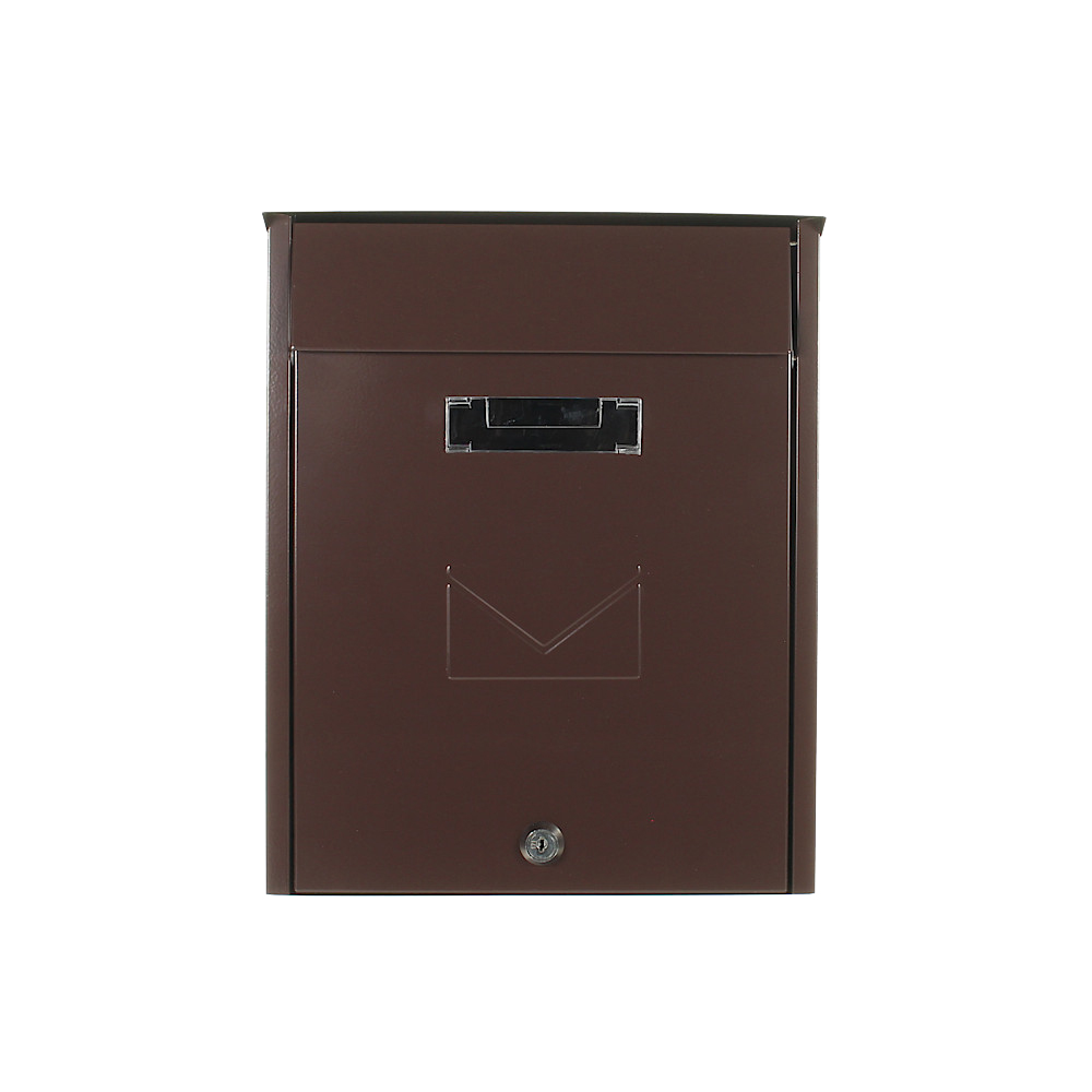 Pro First Mailbox 450 Post Box Brown