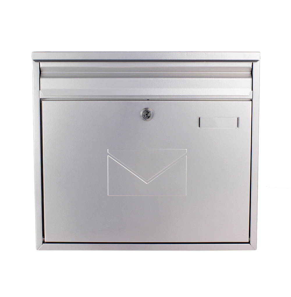 Profirst Mail PM 460 Briefkasten Silber