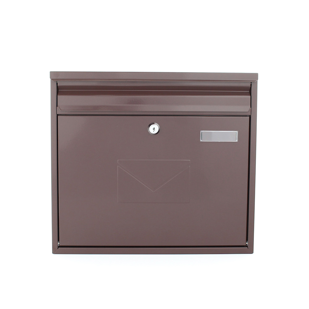Profirst Mailbox 460 Post Box Brown