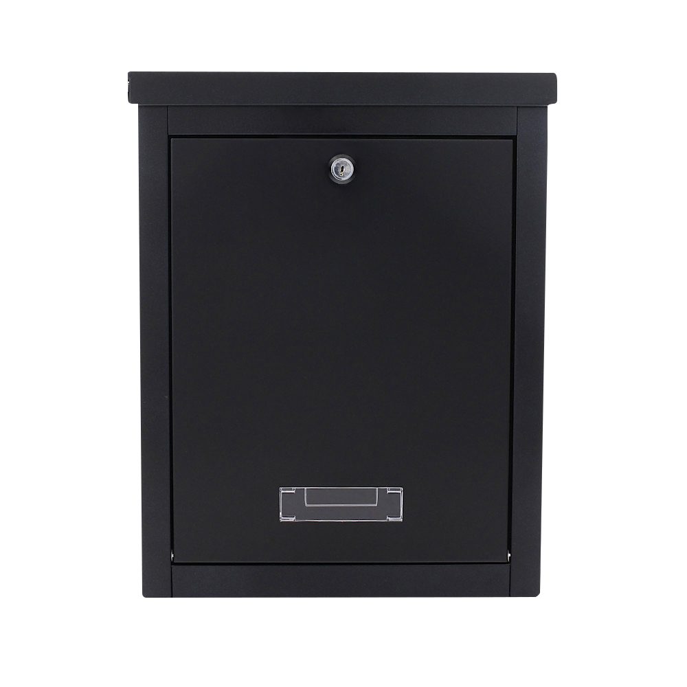 Pro First Mailbox 470 Post Box Black