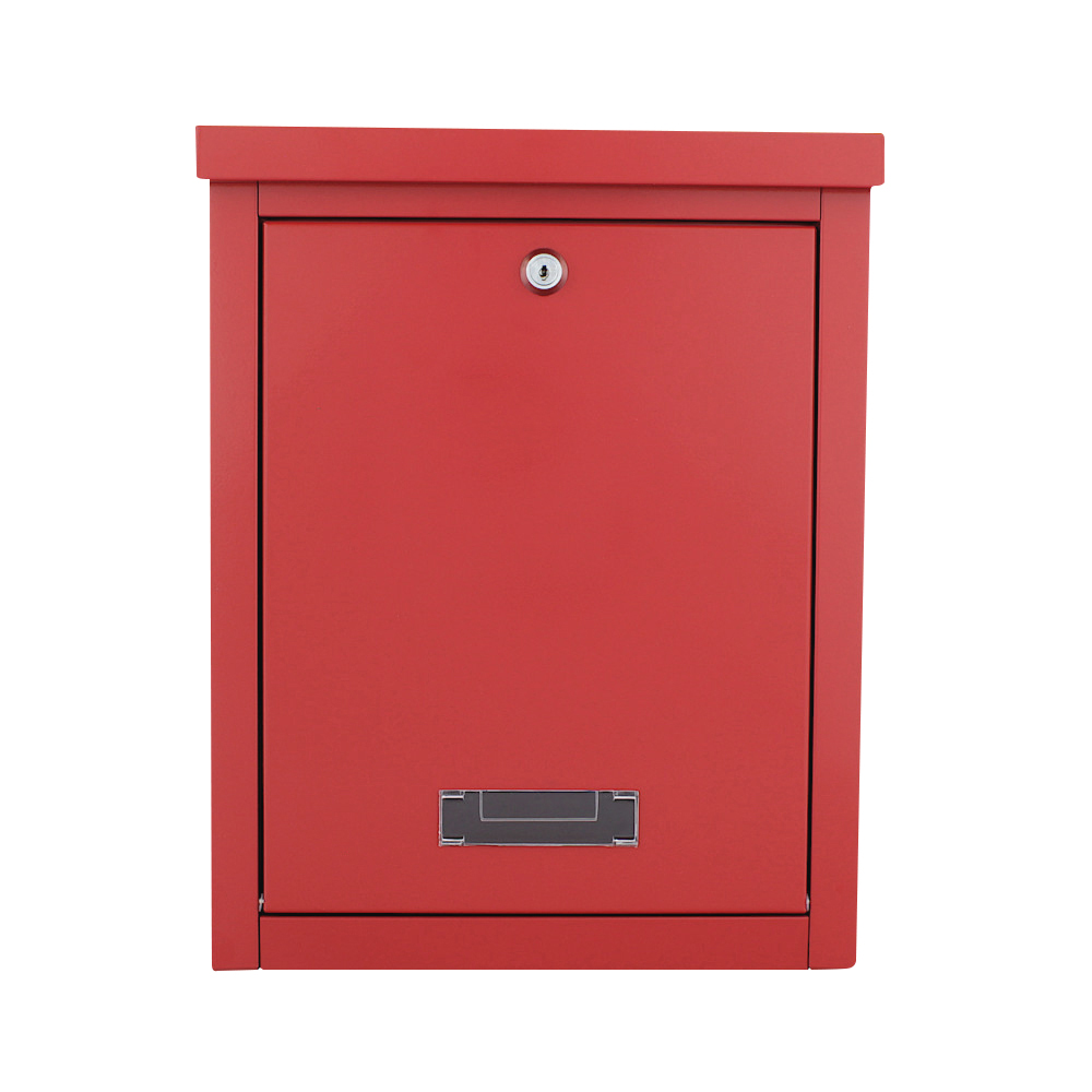 Pro First Mailbox 470 Post Box Red