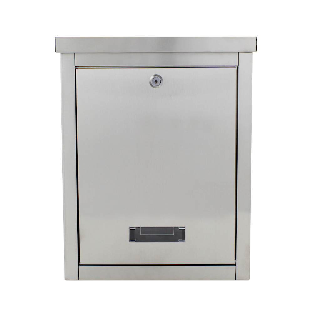 Pro First Mailbox 470 Post Box Stainless Steel