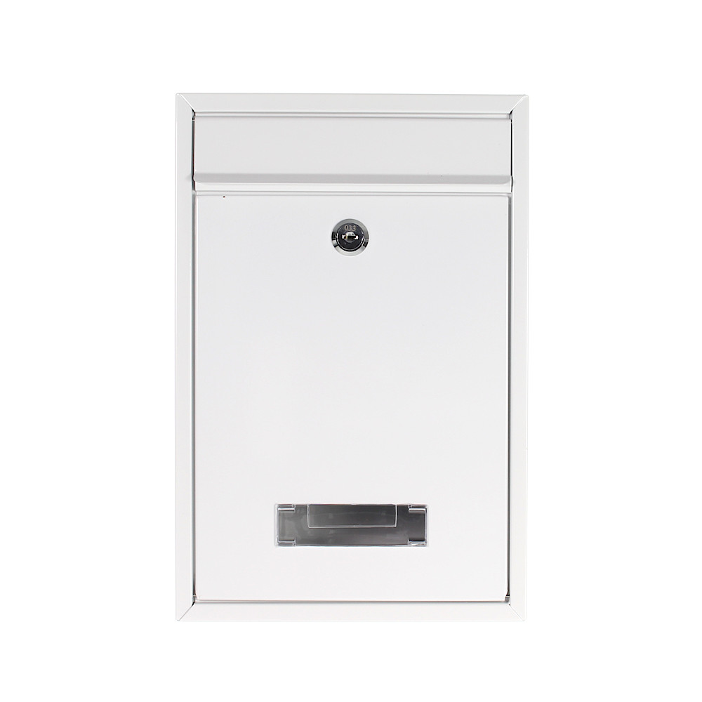 Pro First Mailbox 480 Post Box White