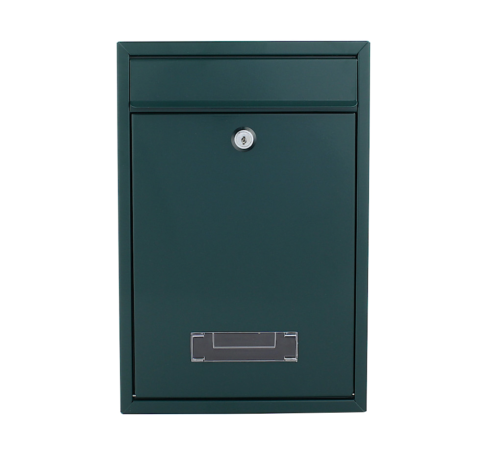 Pro First Mailbox  480 Post Box Green