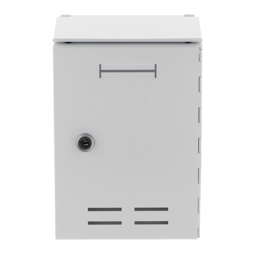 Pro First Mailbox 500 Post Box White