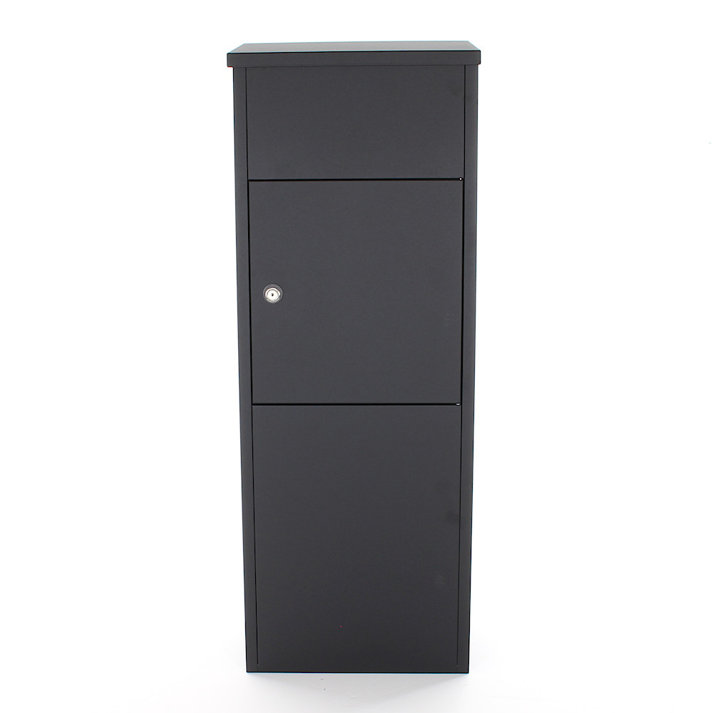 Profirst Mailbox PM 1100 Parcel Keeper Black