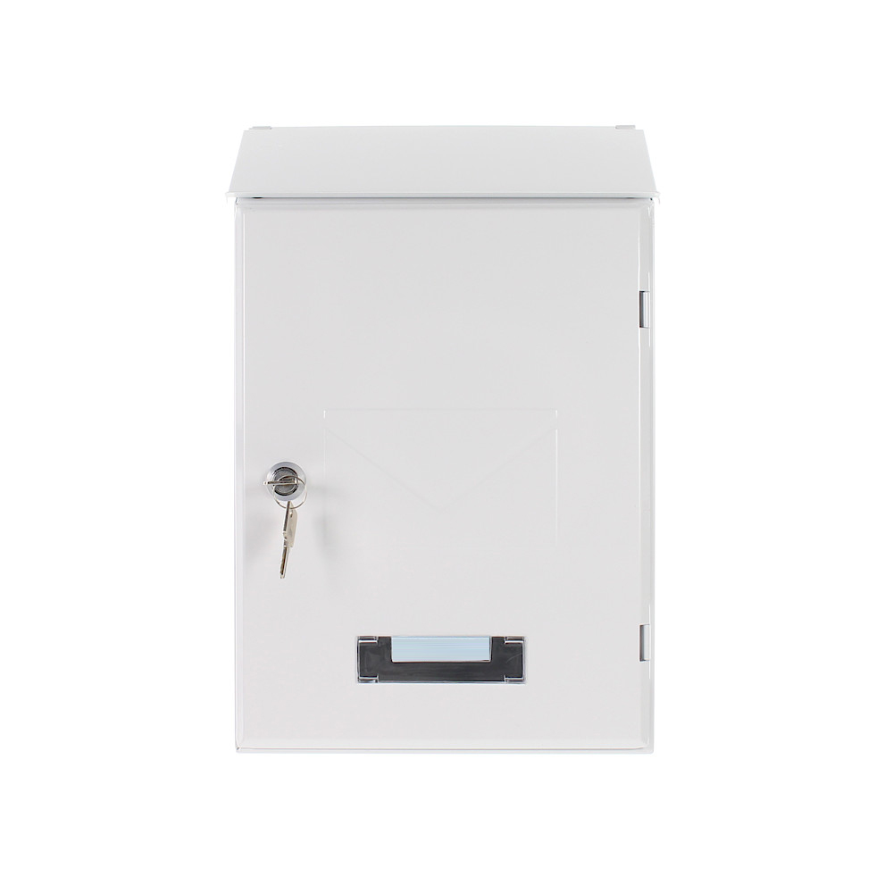 Pro First Mailbox 560 Post Box White