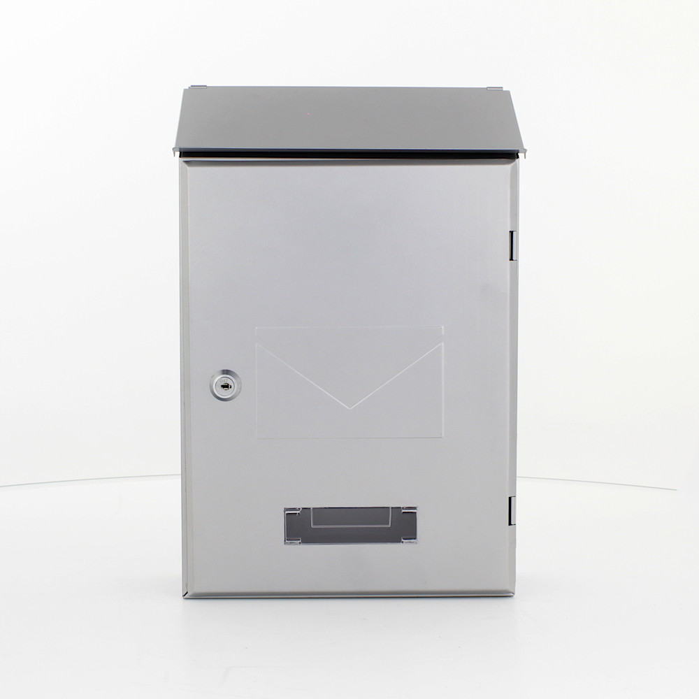 Pro First Mailbox 560 Post Box Silver