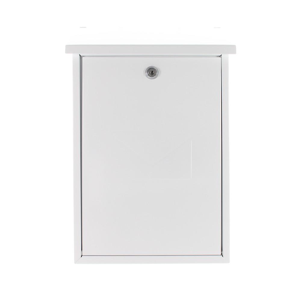 Pro First Mailbox 570 Post Box White