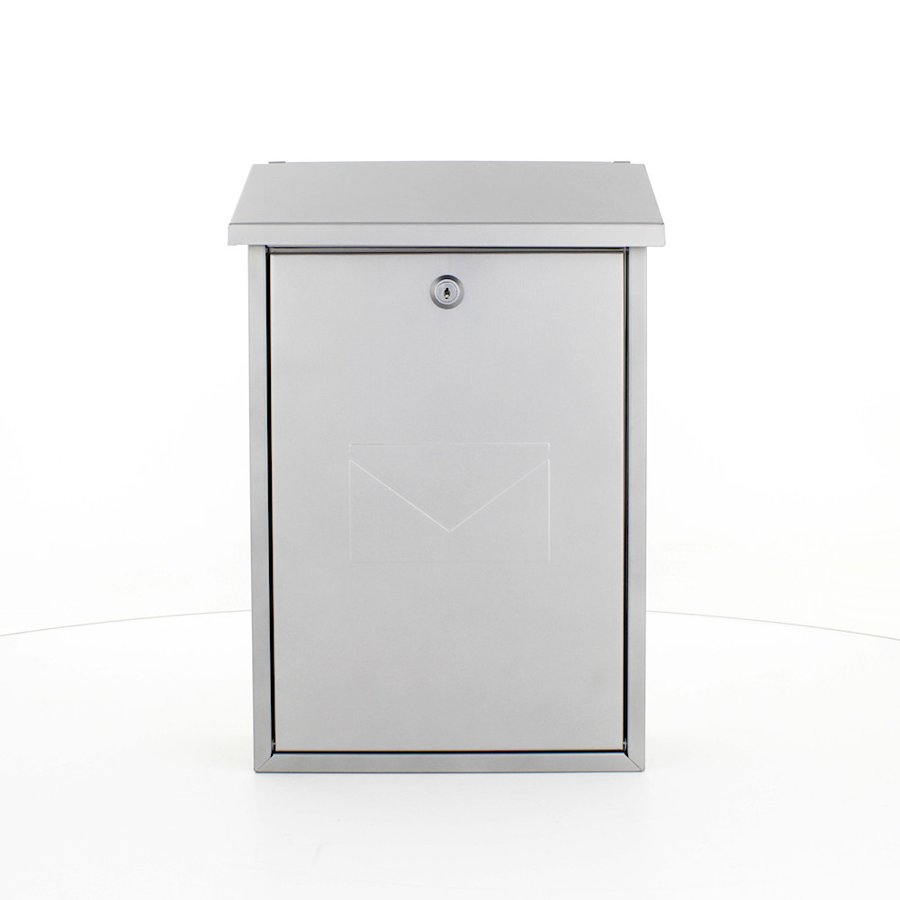 Pro First Mailbox 570 Post Box Silver