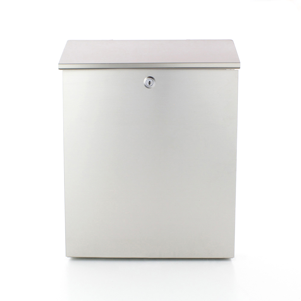 Pro First Mailbox 640 Post Box Stainless Steel