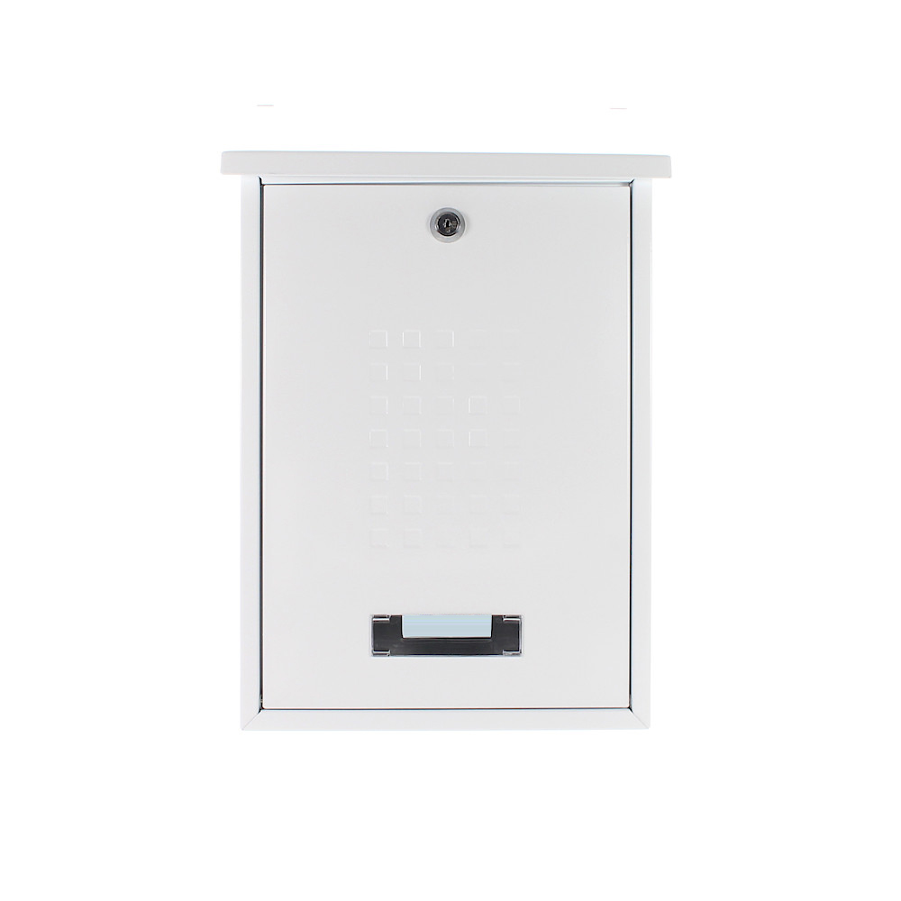 Pro First Mailbox 660 Post Box White