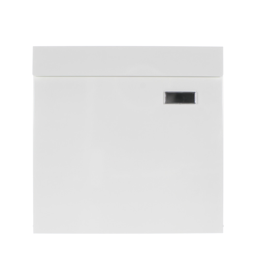 Pro First Mailbox 680 Post Box White