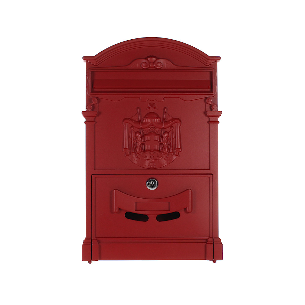 Pro First Mailbox 700 Post Box Red