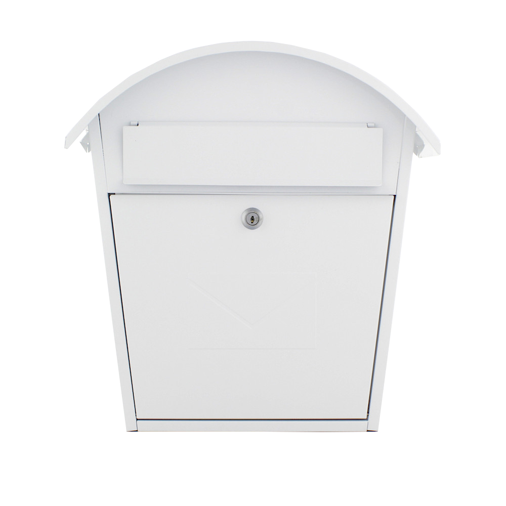 Pro First Mailbox 710 Post Box White