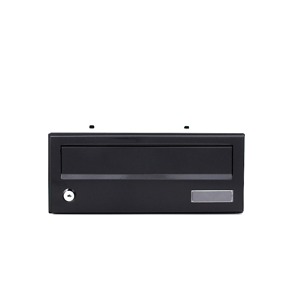 Pro First Mailbox 192 Apartment Module Black Letterbox