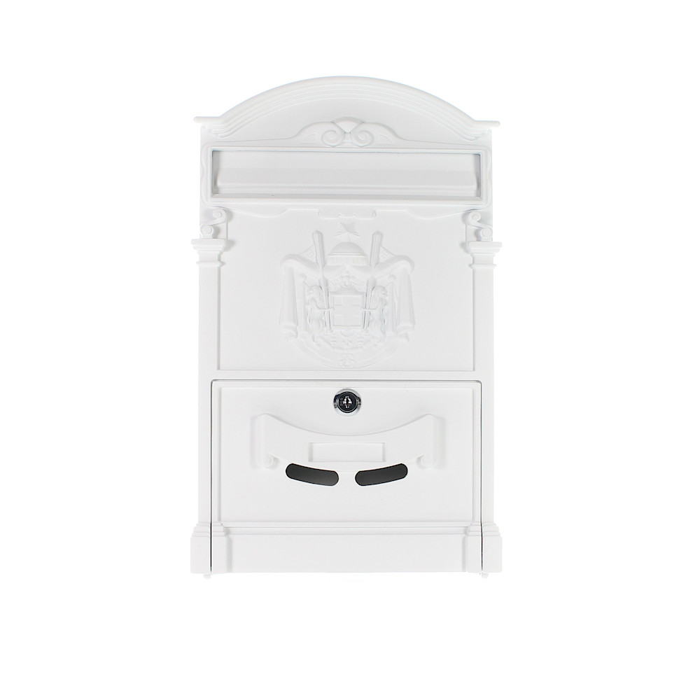 Pro First Mailbox 700 Post Box White