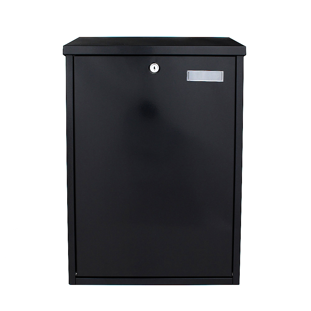Pro First Mailbox 720 Post Box Black