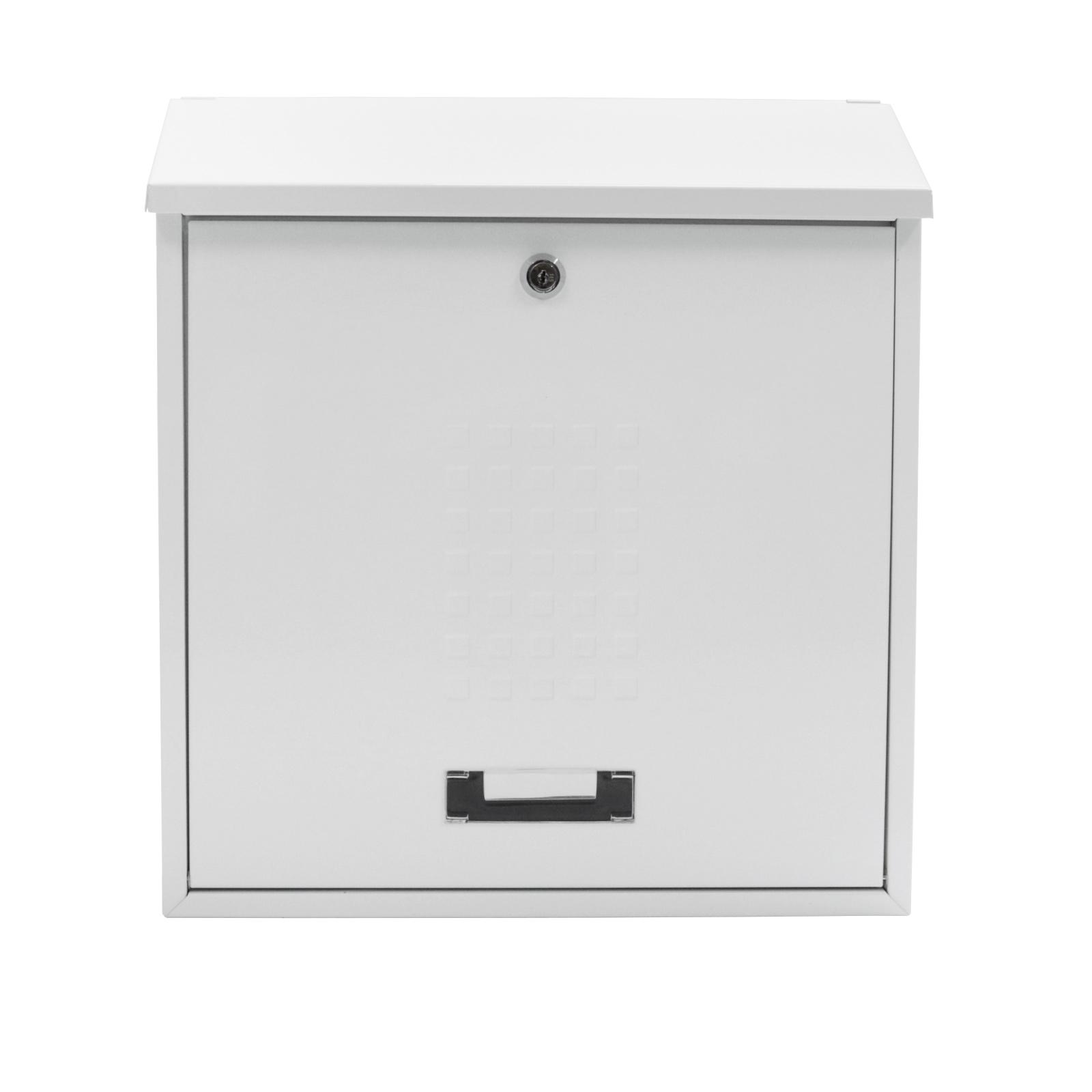 Rottner Bolzano White Mailbox