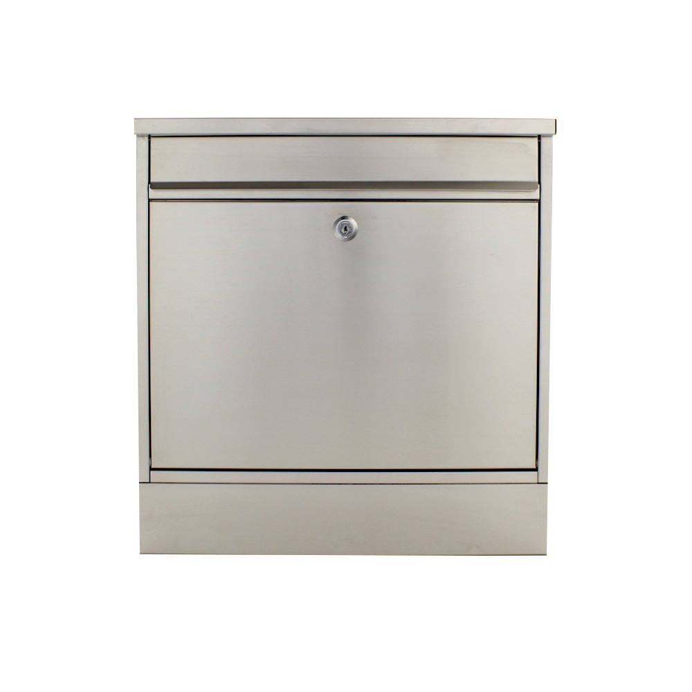 Rottner Stainless Steel Letterbox Hochhaus II Set