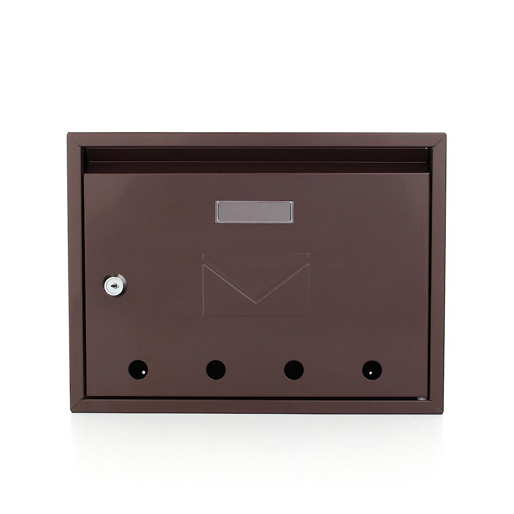 Rottner Mailbox Imola Brown