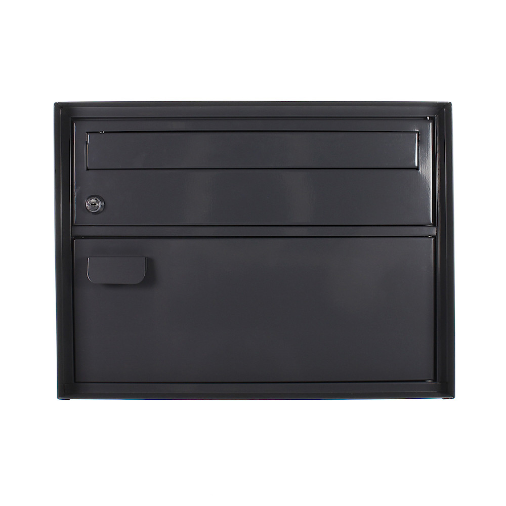 Rottner Enzian Anthracite Swiss Mailbox