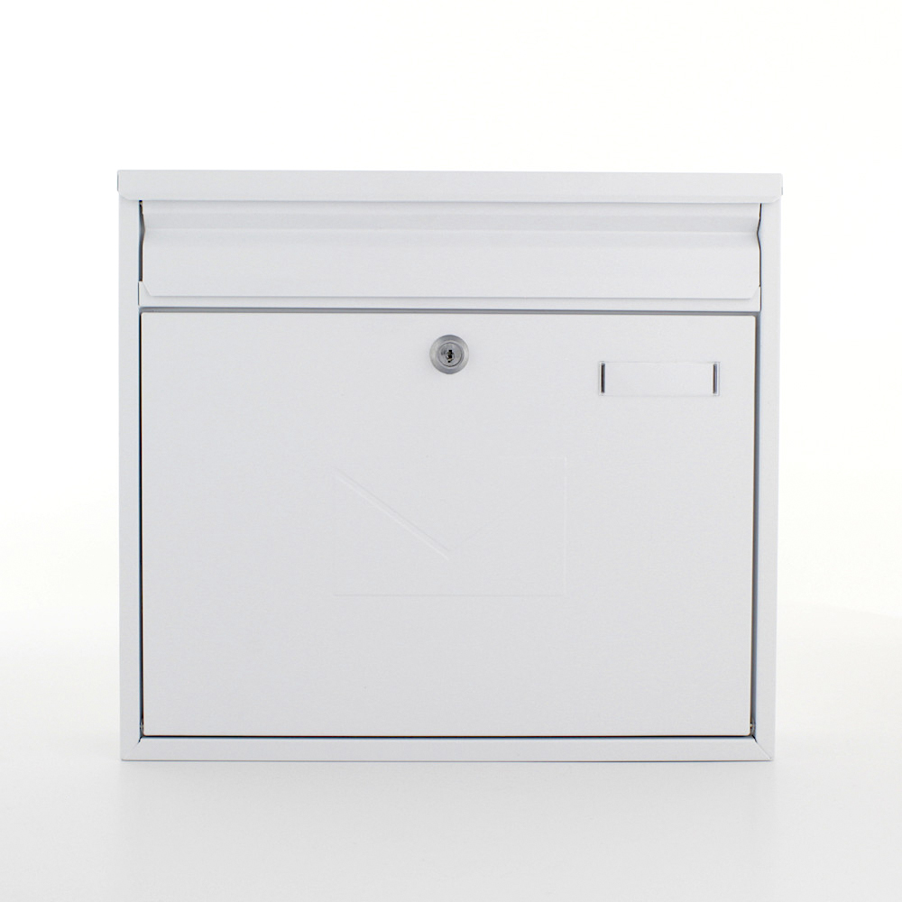 Rottner Letterbox Teramo White