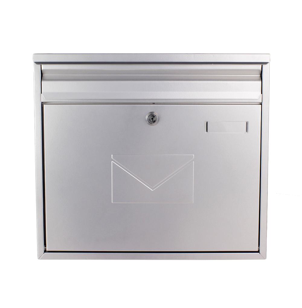 Rottner Teramo Silver Letterbox