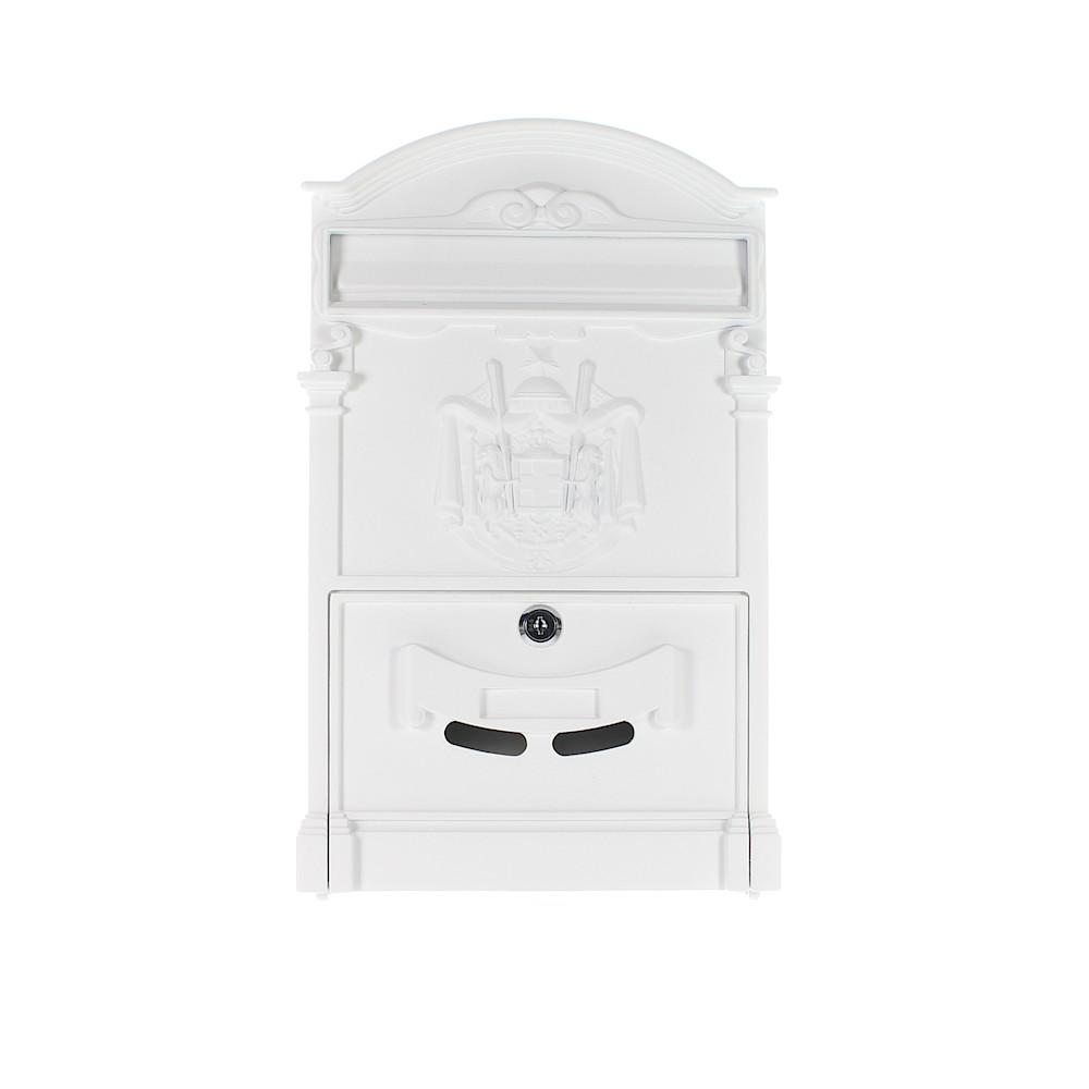Rottner Ashford White Letterbox