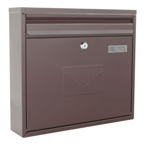 Profirst Mail PM 460 Briefkasten Braun