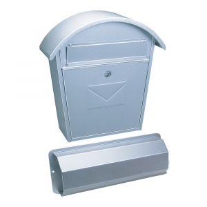 Profirst Mail PM 651 Briefkastenset Silber