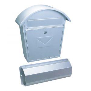 Rottner Briefkasten Aosta Set silber