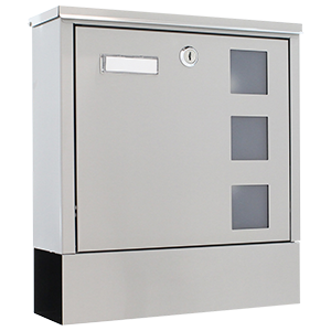 Mailboxes with newspaper holder